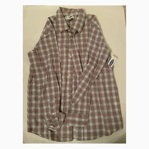 Used Boys Old Navy Button Down - Size 10-12 (L)